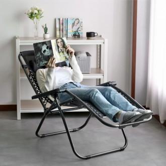 무중력느낌 접이식의자 1인용 리클라이너 의자 눕는의자 독서의자 캠핑의자