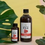 햇빛촌 석류식초 천연발효식초 전통발효식초 수제식초 120ml
