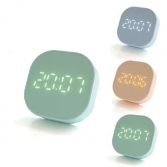 DGITEM 미니 LED알람시계 카운트 타이머 디지털 온도