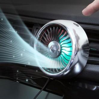 [당일발송] DGG 차량용 LED 선풍기 서큘레이터 특가