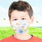 어린이용 3중구조 일회용 마스크 애니멀 어린이 마스크50매