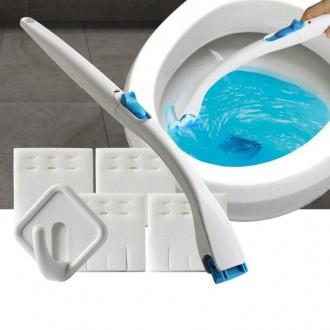 변기크리너 화장실변기솔 욕실청소도구 청소솔 일회용