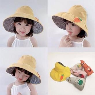 유아 아동 나들이 벙거지 돌돌이 썬캡 모자