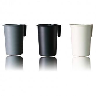 니본 음식물쓰레기통2리터-주방 가정용 종량제봉투 수납 씽크대 휴지통