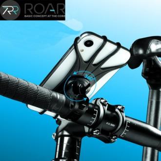 로어 플렉시 360도 회전 실리콘 바이크 자전거 스마트폰 거치대 MTB 하이브리드 펫 로드