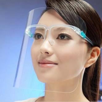 보급형 페이스 쉴드 고글 안경형 투명 마스크 B형