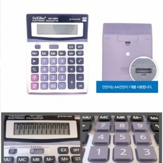 [CL]사무용계산기 GA-1200V 전자계산기 휴대용계산기 탁상용