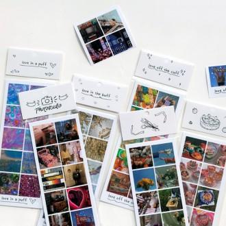 다꾸스티커 / 포토스튜디오 감성 / 다꾸페 문구 아날로그 디자인 모던 키치 디지털