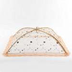 레이스 원터치 밥상보 접이식 음식덮개 식탁덮개(사각)