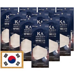 [KF80마스크]/[당일발송][인기상품100] 대형/1매입/국내생산/황사마스크/식약처인증/의약외품/KF80/보건용