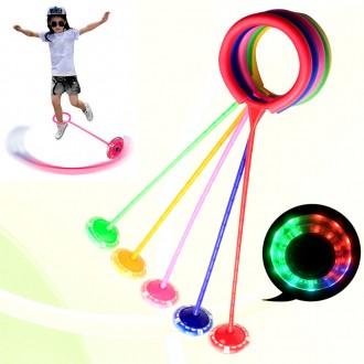 LED 스핀 발목줄넘기 발줄넘기 한발줄넘기 유산소운동 다이어트 홈트족 유치원 초등학교 어린이운동기구