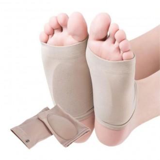 [PK] 실리콘 발바닥 중족골 평발 아치 교정 패드 깔창 발쿠션 발패드