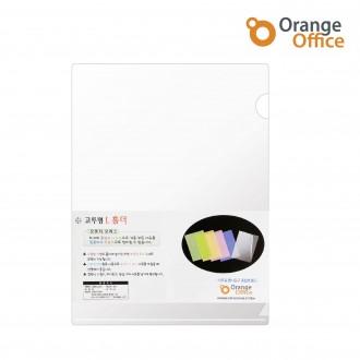 오렌지오피스 고투명 엘홀더/L홀더 투명화일 벌크박스(비닐X)