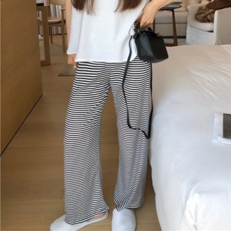 여성 와이드팬츠 슬랙스 밴딩 바지 츄리닝 WU1674