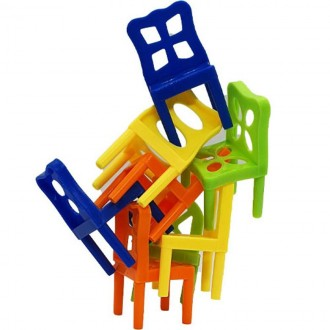 아이윙스 의자쌓기 16000의자쌓기 아슬아슬의자쌓기 의자의 탑 96pcs 의자쌓기보드게임