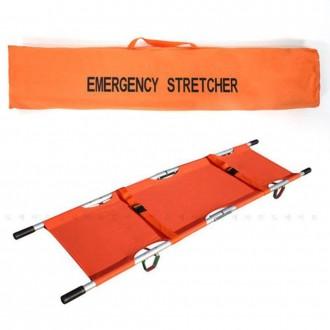 행복한안전 구급용 접이식 들것 응급 부상자 구조 운반