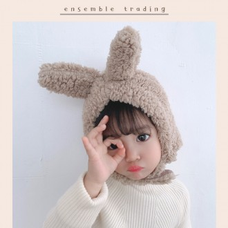 [앙상블] 보글 애니멀 양털 모자/겨울/아동모자/키즈모자