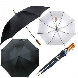 70실버 목손잡형 장우산 (살대 업그레이드) 화이바살대