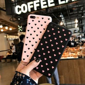 [후니케이스] 귀여운 하트 하드케이스 (갤럭시 아이폰 기종 전용상품) -사업자전용-