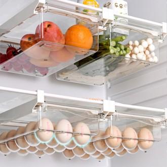 [실버미어]서랍형 냉장고정리트레이 달걀보관함 야채보관함