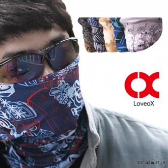 [CL]런웨이브 심플 멀티스카프 자전거 목토시 박스단위판매