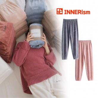 이너리즘 극세사 홈웨어 밍크 융털 수면바지 잠옷
