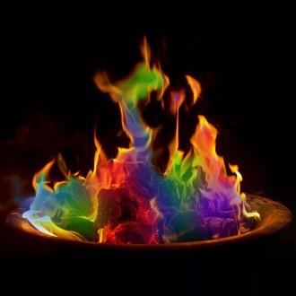 감성 캠핑 매직파이어 오로라 불꽃 불멍 가루 25g 신년