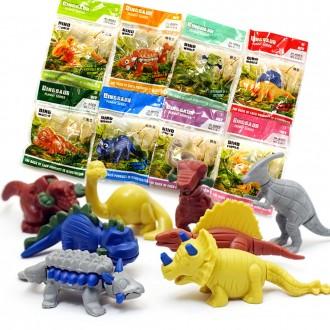 250미니공룡조립피규어 어린이장난감선물 달란트 답례품