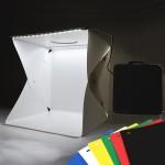 [히트템] 듀얼LED 미니스튜디오 포토박스 30cm/40cm형