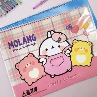 아이윙스 스케치북 2000스케치북 몰랑스케치북 ver.02 드로잉북스케치북