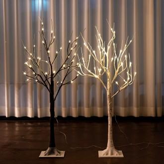 크리스마스 트리 180cm 자작나무 LED일체형 USB타입