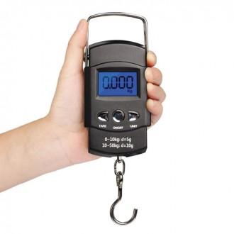 휴대용 미니 전자 저울 물고기 측정 루어낚시 계측기