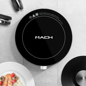 마하 1구 인덕션 전기 렌지 레인지 하이라이트 주방용품 원형