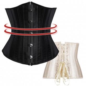 스틸본코르셋 보정속옷 흉곽 흉통 뱃살 다이어트 자바쥬