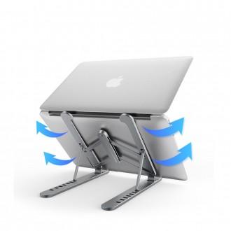 라온 PL1 대형 노트북 접이식 알루미늄 노트북 거치대 쿨링 받침대