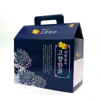 천만송이 고향한과 실속형 돼지감자한과 & 전통한과 선물세트 900g