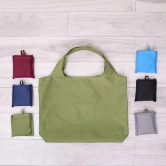 단색 컬러 포켓형 빅사이즈 시장가방
