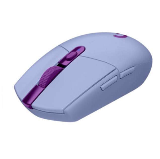 [해외]D 로지텍G G304 LIGHTSPEED WIRELESS 게임용 사무실 무선 마우스 라일락색상