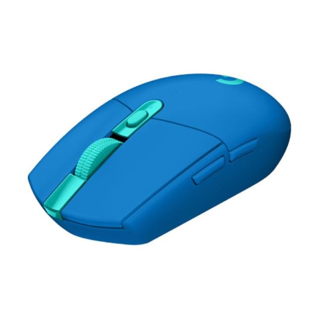[해외]D 로지텍G G304 LIGHTSPEED WIRELESS 게임용 사무실 무선 마우스 블루색상