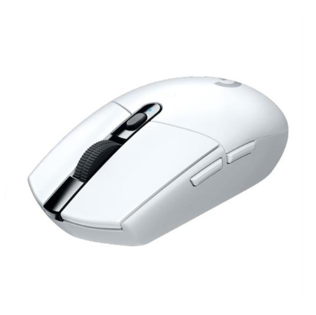 [해외]D 로지텍G G304 LIGHTSPEED WIRELESS 게임용 사무실 무선 마우스 화이트색상