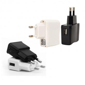 제이팀 분리형 USB 5V 1A충전기 2종