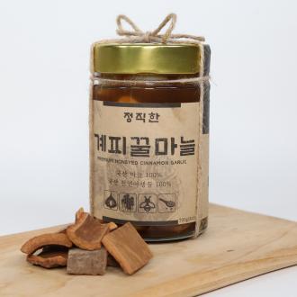정직한 계피꿀마늘 마늘꿀절임 건강식품 [정직한청년]
