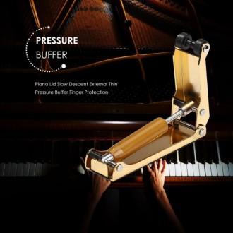 피아노 건반뚜껑 천천히 닫힘장치 손보호 손끼임방지 손꽝방지 슬라이딩닫힘