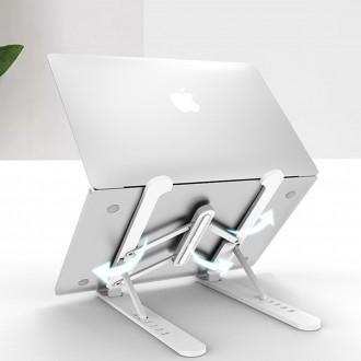 휴대용 접이식 각도조절 노트북 받침대 2종색상