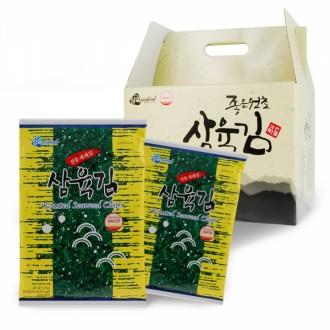 삼육김 선물용 재래김세트 10봉 한박스 명절선물세트