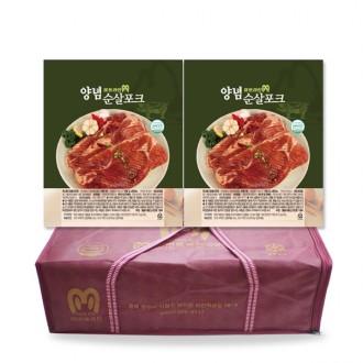 미트라인 양념순살포크 선물세트 3kg 2팩 무배 양념육