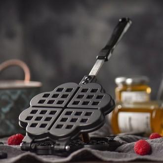 와플팬 와플 메이커 기계 와플기 간식 붕어빵 주방용품 크로플 베이킹