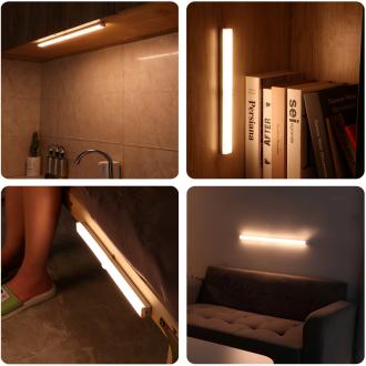 아이루미 [제조사 직판] 무선센서등 충전식 LED 센서바 자석 부착식 무드등 계단등 현관조명 주방등 ILUMI