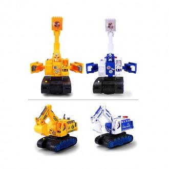 LED 포크레인 장난감 / 장난감 / 완구/ 포크레인 / 자동차 / 변신 장난감