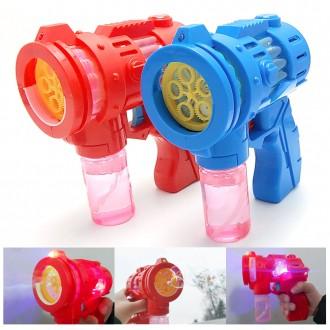 토네이도 버블건 5구 비누방울 비눗방울 유치원 어린이 선물 자동 비누방울총 사은 판촉 장난감총
